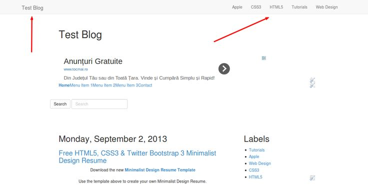 How To Create A Blog Navigation Using The Blogger Labels Widget