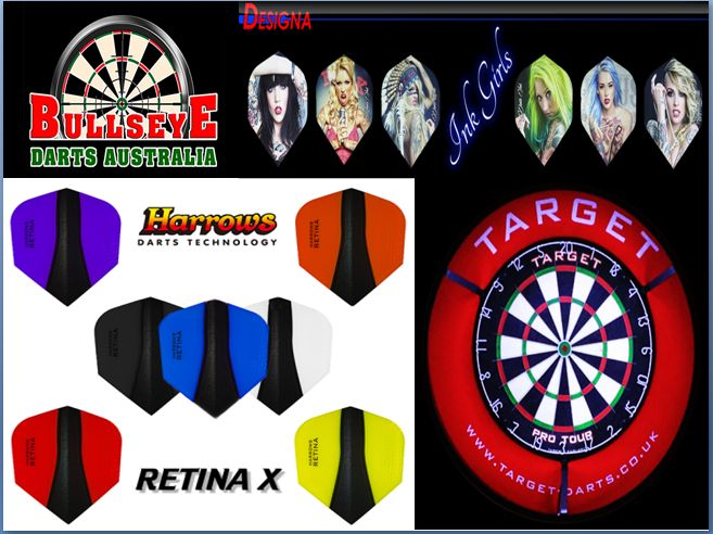 Buy darts online in Australia from Bullseye Darts Australia, a premier dart shop that has put a wide range of dartboards and darts for sale in Australia. If you already own a dartboard, then you are certainly going to need accessories or replacement parts; for that matter, you can turn to Bullseye Darts Australia for authentic dart products and accessories.