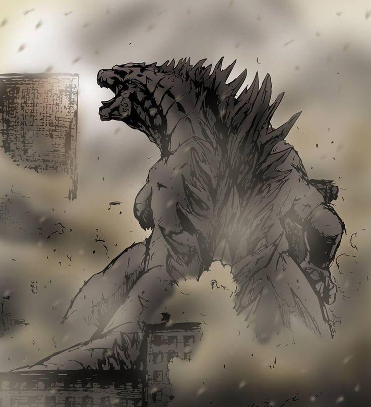 Godzilla 2014 Fan Art