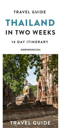 A 14 day guide to exploring the best of Thailand's cities and islands  #travel #travelling #destinations #travelblogger #travelstories #travelinspiration #besttravel #tourism #travelwriter #travelblog #traveldeeper #traveltheworld #Thailand #ThailandTravel   http://adventuresoflilnicki.com/