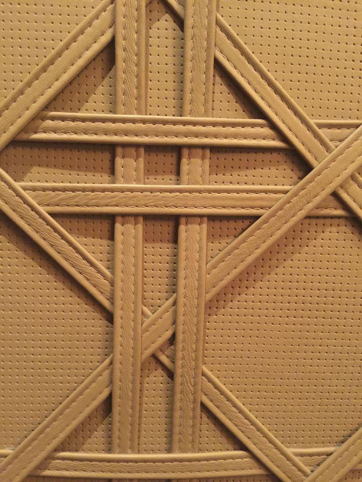 Prestigious Leather feature Wall | Mahogany Room - Foyer