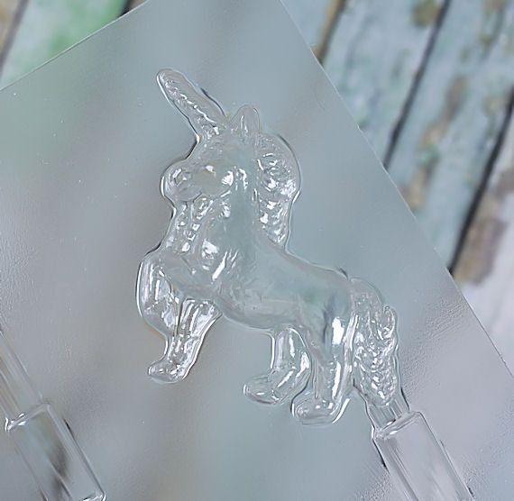Unicorn Lollipop Mold | www.bakerspartyshop.com