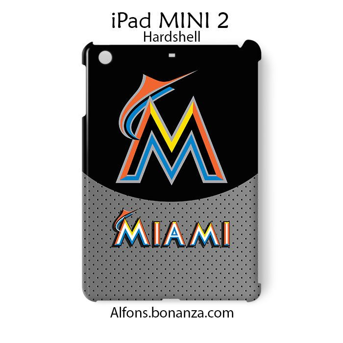 Miami Marlins iPad MINI 2 Case Cover Hardshell