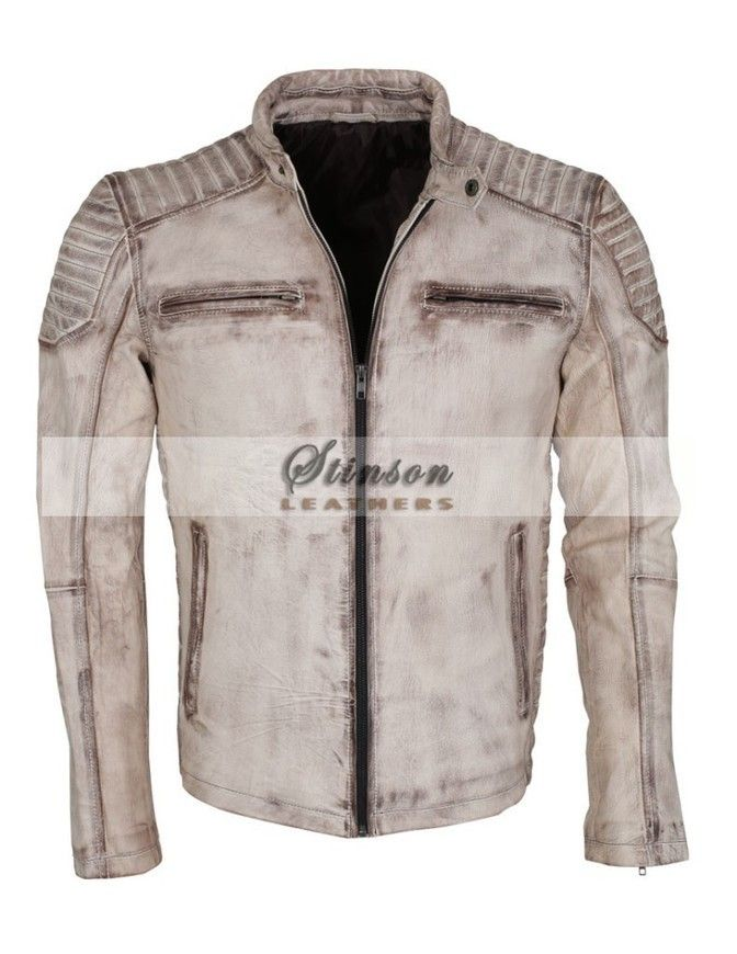 Men Motorbike Leather Jacket Summer Collection For Sale Stinson Leathers, Motorbike Leather Jacket for men - Free Shipping Worldwide