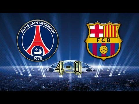 PSG VS BARCA ● 4 - 0 😆 ●FULL HD● ALL GOOL HIGHT LIGHT
