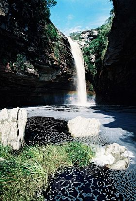 Cachoeira do Agreste - Morro do Chapéu, Brasil