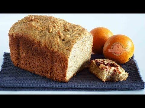 Pan de Naranja y Plátano - Pan en panificadora LIDL - YouTube