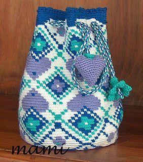 Mochila Bag for girls 19x26cm.