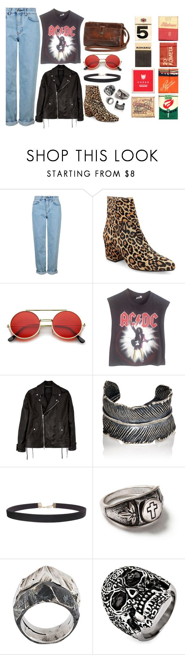 """""""you know, that is nothig, but sometimes is everything"""" by eszterk9 on Polyvore featuring Topshop, Steven by Steve Madden, ZeroUV, Vintage, Diesel Black Gold, M. Cohen, Humble Chic, Topman, Lost & Found and West Coast Jewelry"""