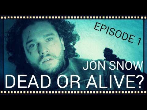 Game Of Thrones   Season 6   Episode 1   Jon Snow dead or alive?
