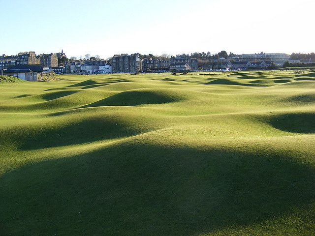 mounds of St Andrews Golf Course