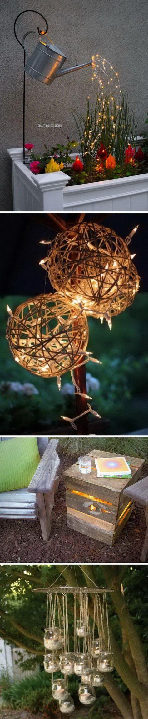 Amazing Outdoor Lighting Ideas.