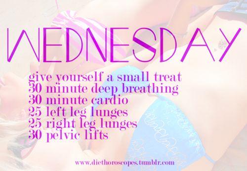 Wednesday.