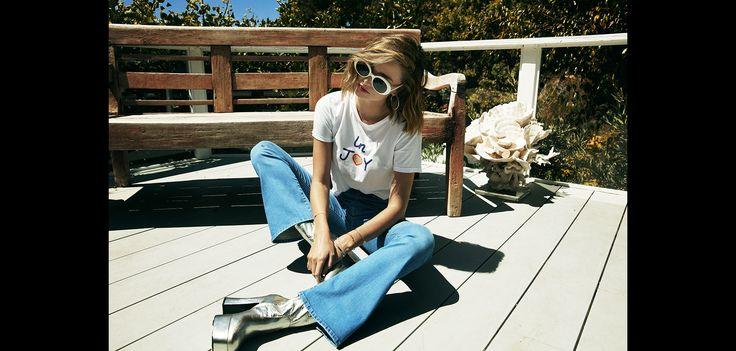3 questions à Miranda Kerr, égérie et créatrice pour la marque de jeans Mother