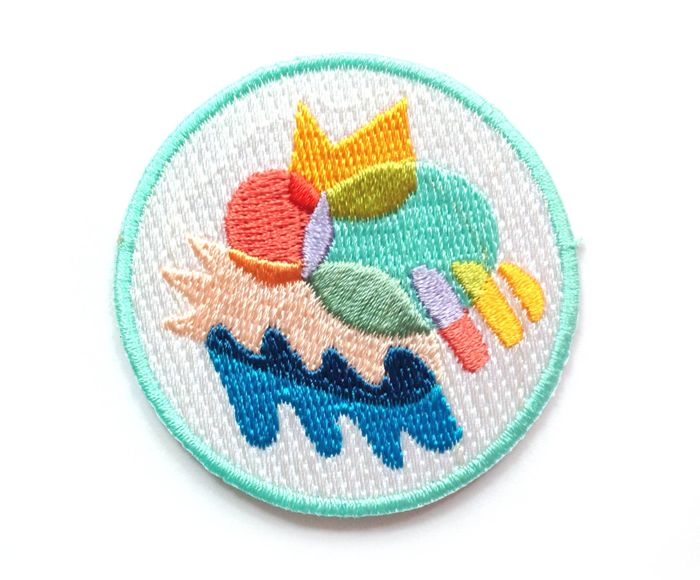 18 Indie Embroidered Patch Companies + Best of the Web | Design*Sponge