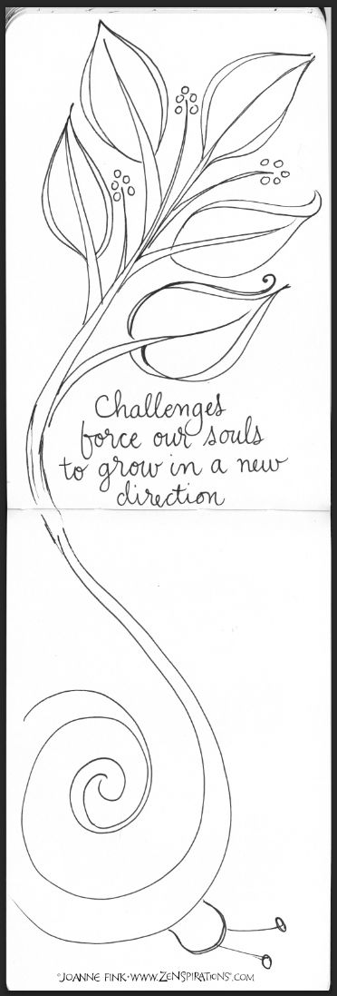 Check out pages from Joanne's Journals in this week's Zenspirations - BLOG