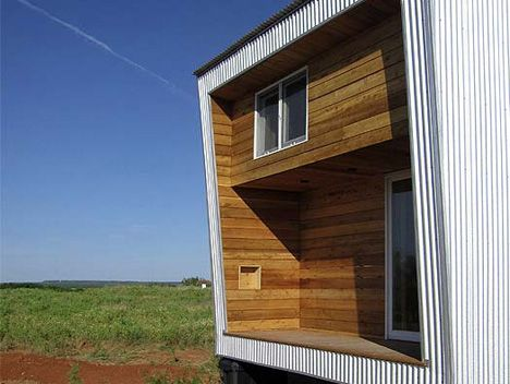 One-Piece Prefab: All-in-One House for Off-the-Grid Living