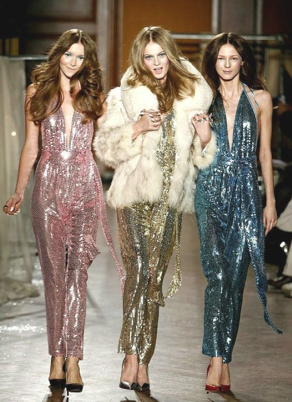 Sequinned Jumpsuits!                                                                                                                                                                                 More