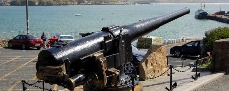Laurentic Gun at Downings