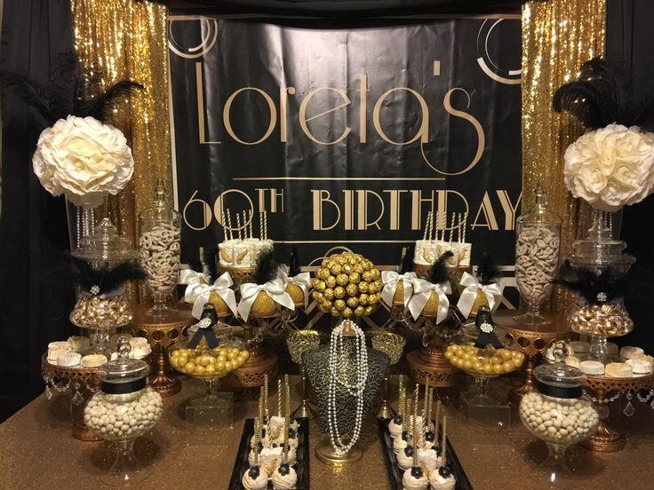 Great Gatsby Gatsby Candy Table Roaring 20s Birthday