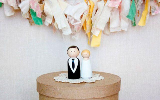 Вдохновение: фигурки для свадебного торта