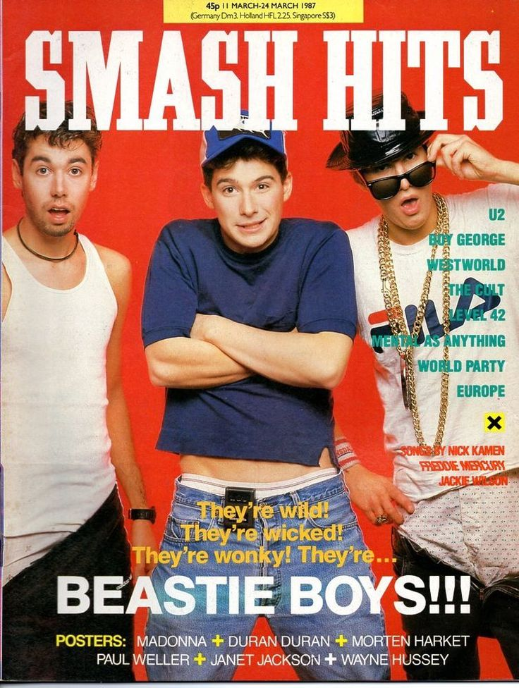 SMASH HITS MAGAZINE 11-24 MAR 1987 BEASTIE BOYS BOY GEORGE LEVEL 42 WESTWORLD   | eBay