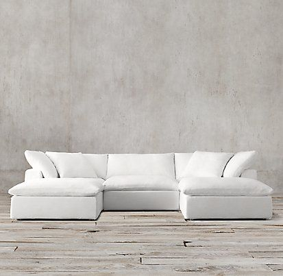 Cloud Cube Modular Sectionals | Restoration Hardware                                                                                                                                                                                 More