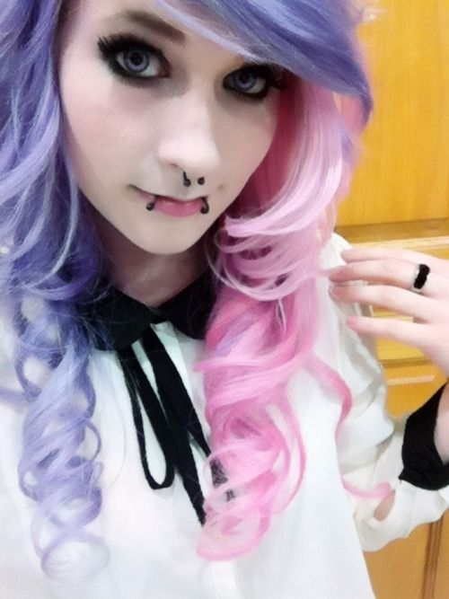 hair styles emo 477 best images about hairstyles on 6466 | 8c6ce7066d6adbe44f191ff114ff6466 pink purple hair pastel hair
