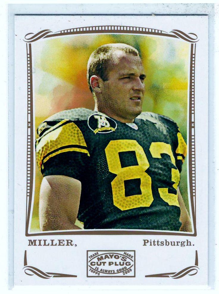 Sports Cards Football - 2009 Topps Mayo's Cut Plug Heath Miller