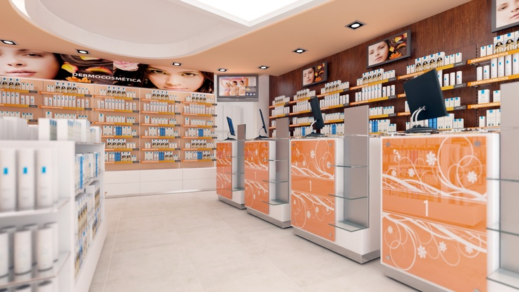 Pharmacy Design Retail Design Store Design Pharmacy Shelving
