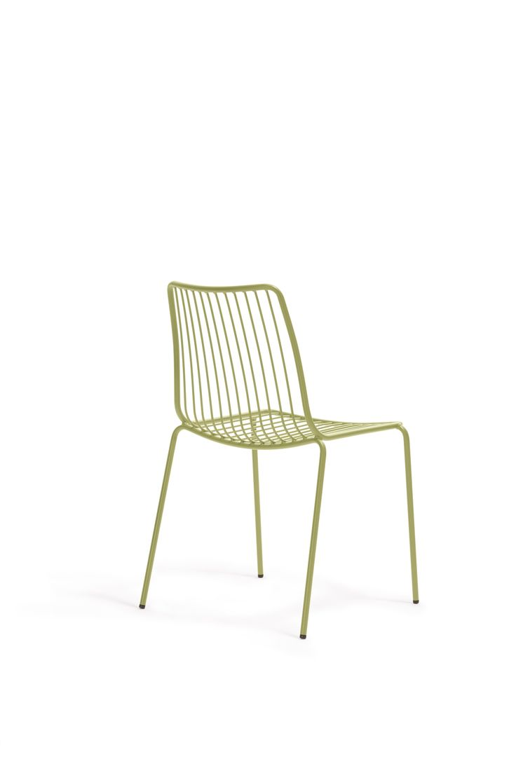 Stackable outdoor chairs lightweight peppermill interiors - Nolita Outdoor Chairs By Simone Mandelli Antonio Pagliarulo For Pedrali