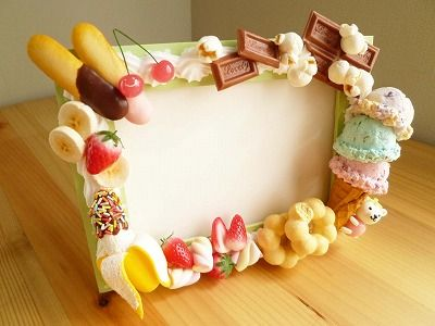 Follow @Rubyjaii for more, decoden, sweets, kawaii, decoration, fimo, polymer clay, crafts, cute