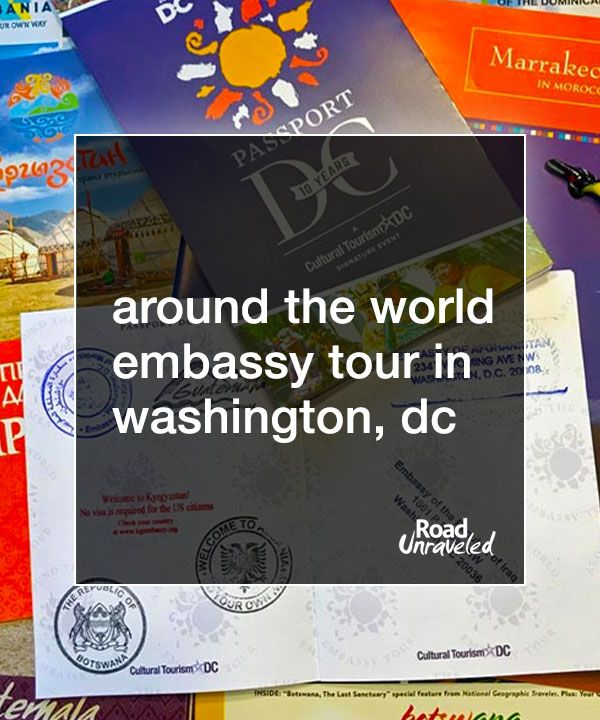 The World in a Day: 40+ Embassies open their doors to tours once a year in Washington, DC