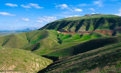 Landschap van Turkmenistan http://www.naturescanner.nl/azie/turkmenistan