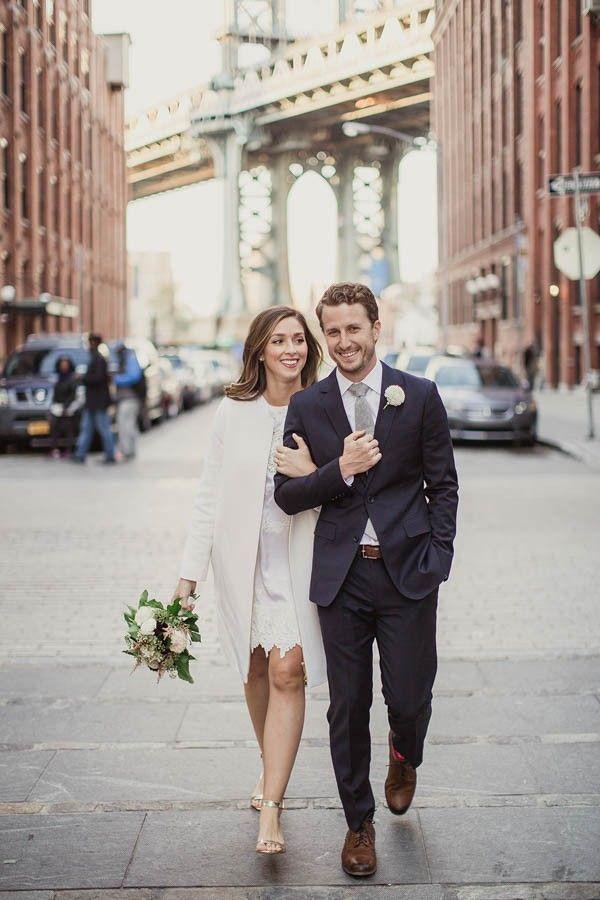 chic brooklyn wedding
