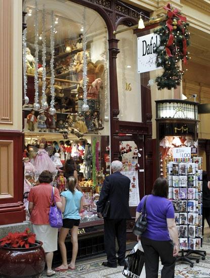 Dafel's Doll and Bear Shop Block Arcade Melbourne Victoria Australia