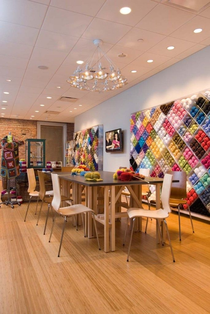 Lion Brand Yarn Studio. New York