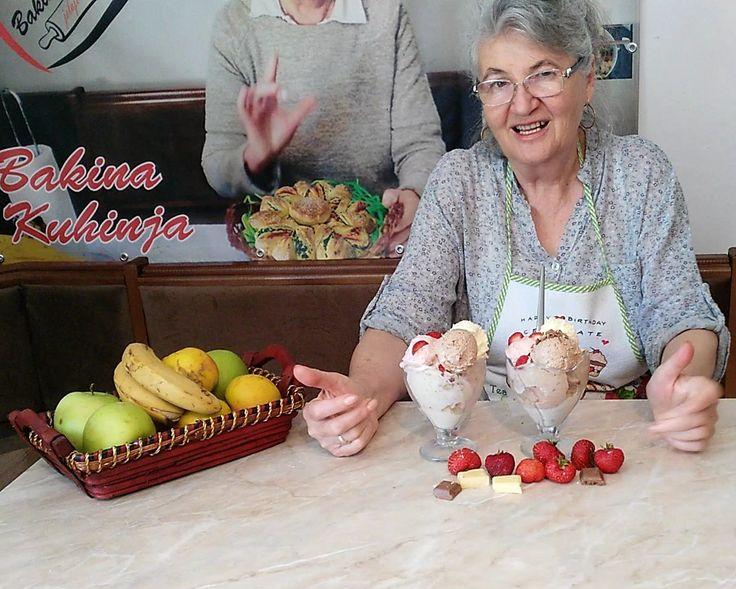 Bakina kuhinja - domaći sladoled sa svežim voćem pun vitamina - Bakina kuhinja