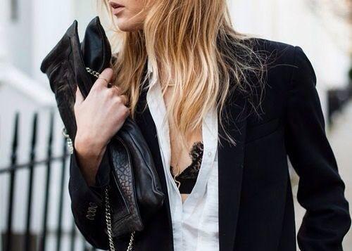 Trend moda donna: reggiseno in pizzo a vista - Pensorosa