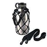 Paracord Water Bottle Holder for Hydro Flask Growler 64 oz