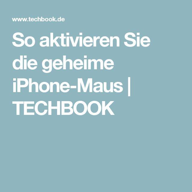 So aktivieren Sie die geheime iPhone-Maus | TECHBOOK