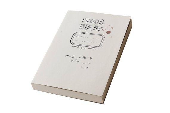 Mood Diary Calendar, weekly planner, agenda- Record your mood- Start whenever you want on Etsy, $13.91 --I like this!