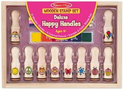 Melissa & Doug Deluxe Happy Handle Stamp Set $14.99 - from Well.ca