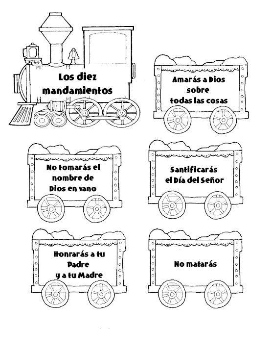 tren- 10 mandamientos - Religicat Religión - Álbumes web de Picasa ...