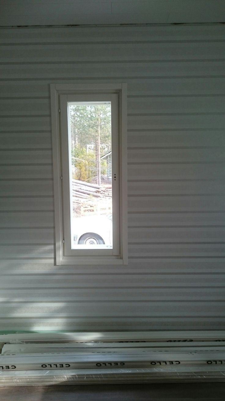 Triplalistoitetut ikkunat. Ihan ite tehtiin!