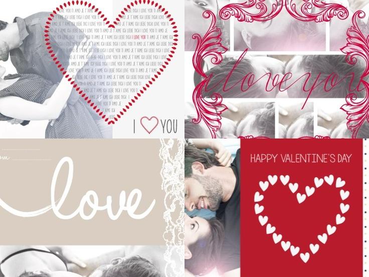 Card personalizzate per Valentine's Day! Per questo san valentino regala una lettera d'amore con le... pinned with Pinvolve
