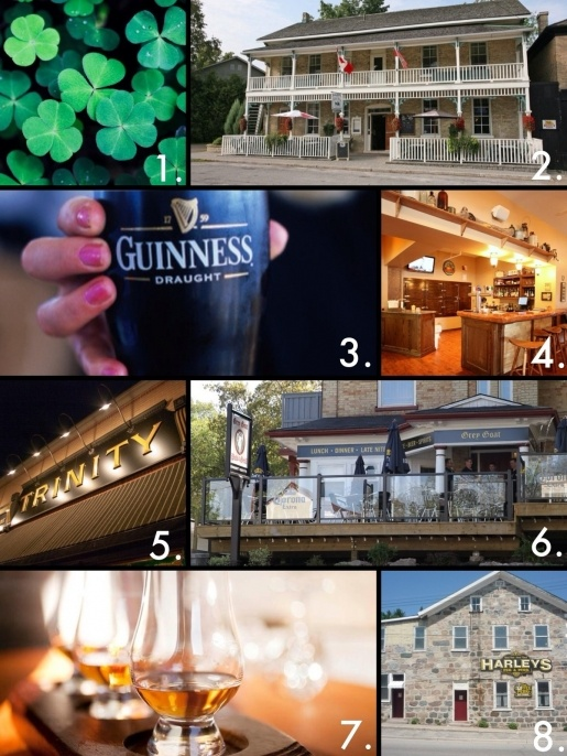 For an authentic St. Patrick's Day experience, celebrate at one if these 8 great rural Ontario pubs. >> via Ruralist.ca