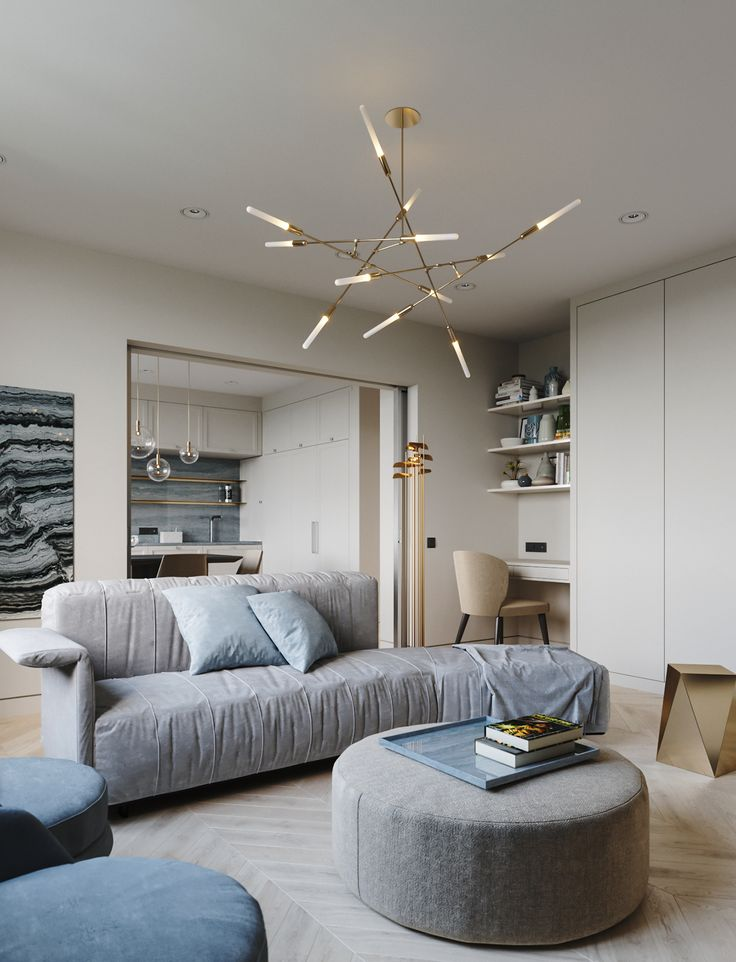 Apartment in onyx colours