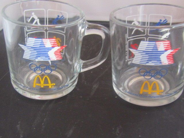 A set of 2 McDonalds 1984 Olympic Glasses. in great shape. | eBay!