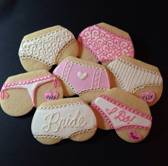 Lingerie Cookies-1 Dozen on Etsy, $36.00